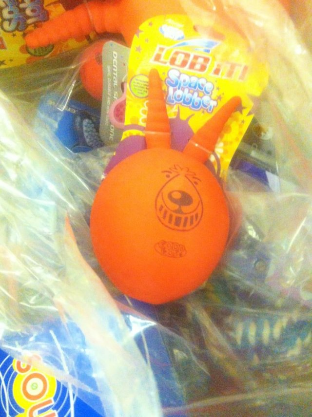 dog toy space hopper