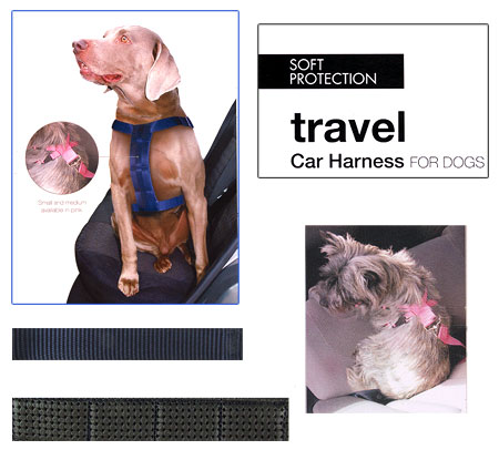 soft protection dog car harness